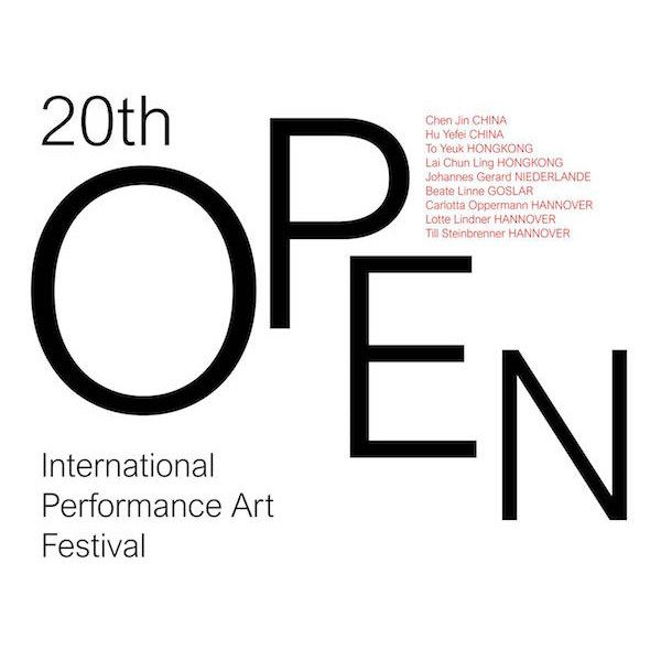 20th OPEN International Performance Art Festival  | by Ilka Theurich  Hannover | DE – 2019